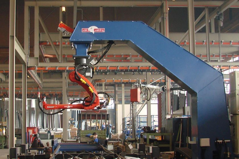 Stertil-Koni welding robot for dock and loading bay products