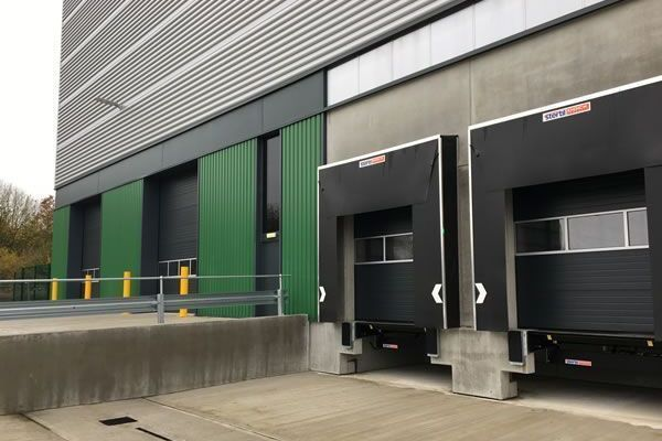 Stertil Uk loading bays for Baytree Project