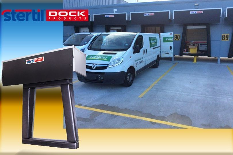 Stertil Dock Products launche courier and parcel hybrid van shelter