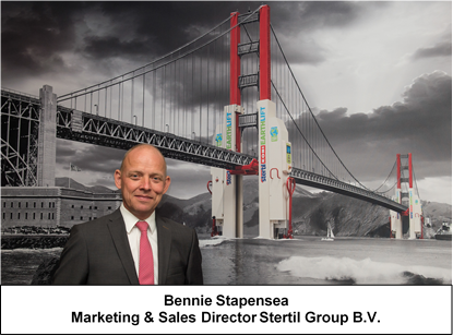 Bennie Stapensea Marekting & Sales Director